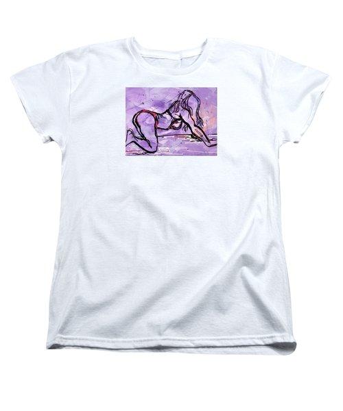 Bold Woman  Women's T-Shirt (Standard Cut) by Erika Pochybova
