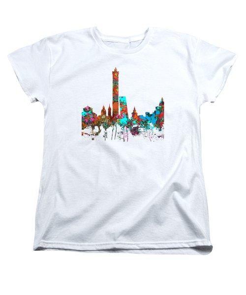 Bologna Italy  Skyline  Women's T-Shirt (Standard Cut)