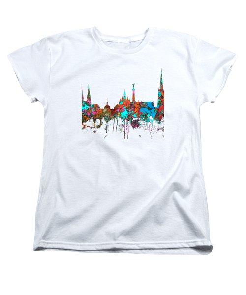 Bordeaux France  Skyline  Women's T-Shirt (Standard Cut)