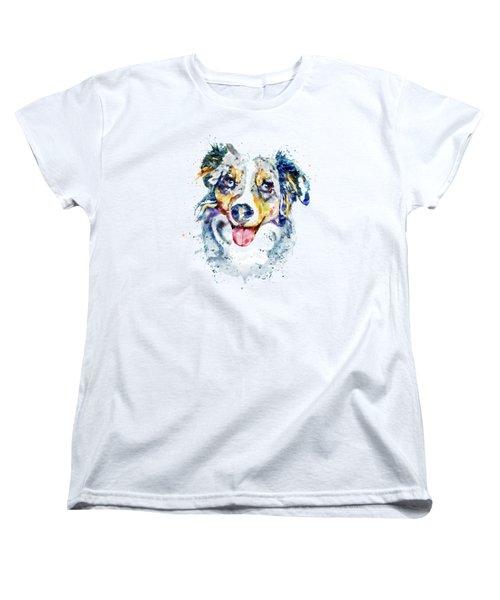 Border Collie  Women's T-Shirt (Standard Fit)