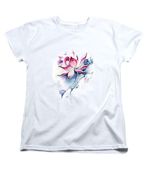 Born For Freedom Women's T-Shirt (Standard Cut) by Anna Ewa Miarczynska