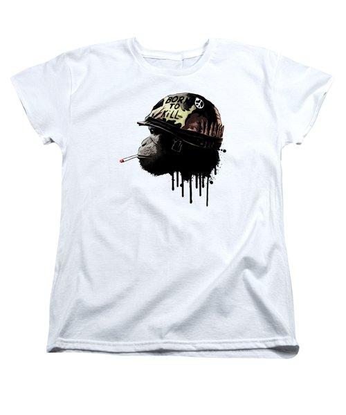 Born To Kill Women's T-Shirt (Standard Cut) by Nicklas Gustafsson
