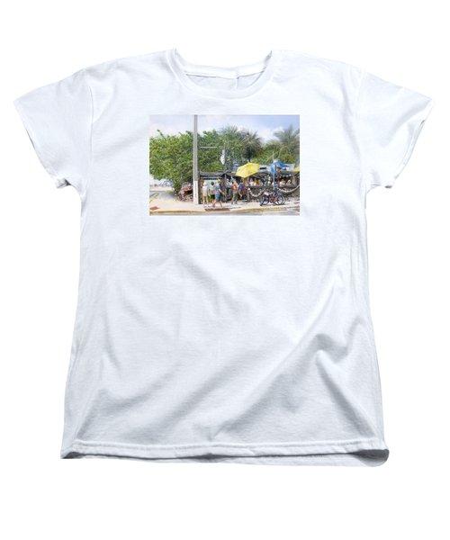 Bos Fish Wagon Women's T-Shirt (Standard Cut)
