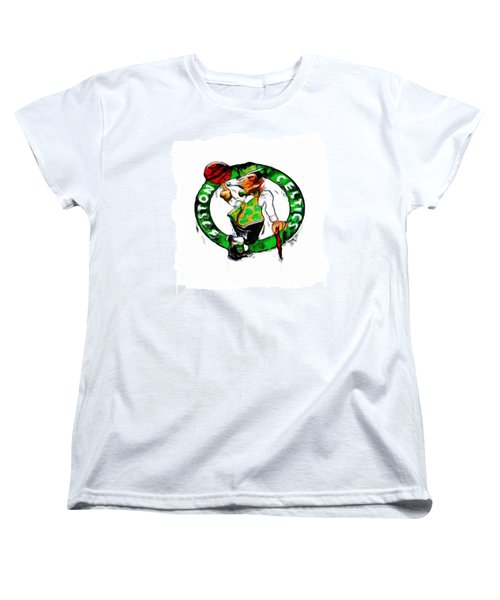 Boston Celtics 2b Women's T-Shirt (Standard Cut)