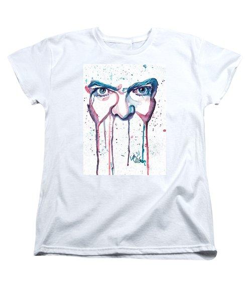 Bowie Women's T-Shirt (Standard Cut) by D Renee Wilson