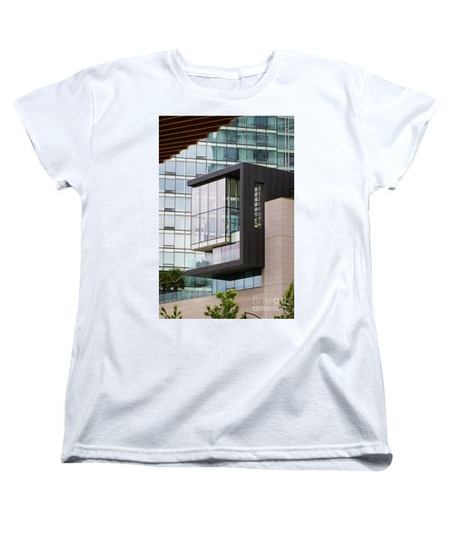 Women's T-Shirt (Standard Cut) featuring the photograph Boxed In by Chris Dutton