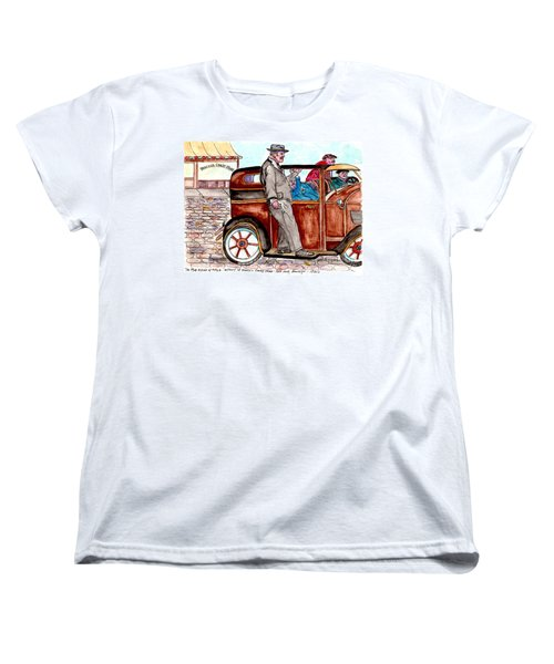 Bracco Candy Store - Window To Life As It Happened Women's T-Shirt (Standard Cut) by Philip Bracco