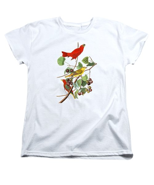 Women's T-Shirt (Standard Cut) featuring the photograph Breakfast Time by Munir Alawi
