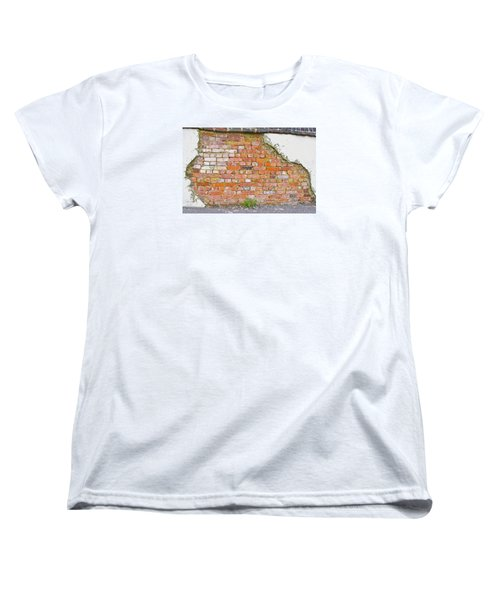 Brick And Mortar Women's T-Shirt (Standard Cut) by Wanda Krack