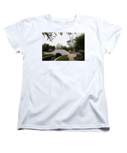 Bridge In Alys Beach Women's T-Shirt (Standard Fit)