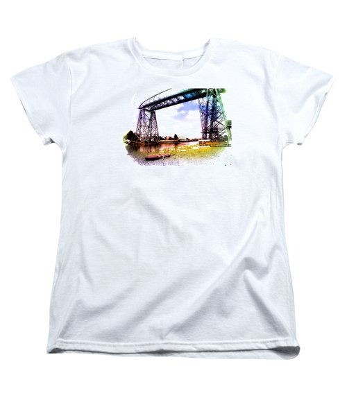 Bridge Women's T-Shirt (Standard Cut) by Silvia Bruno