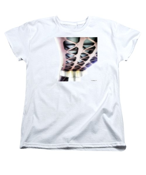 Women's T-Shirt (Standard Cut) featuring the photograph Bridge To Eternity by Brian Wallace