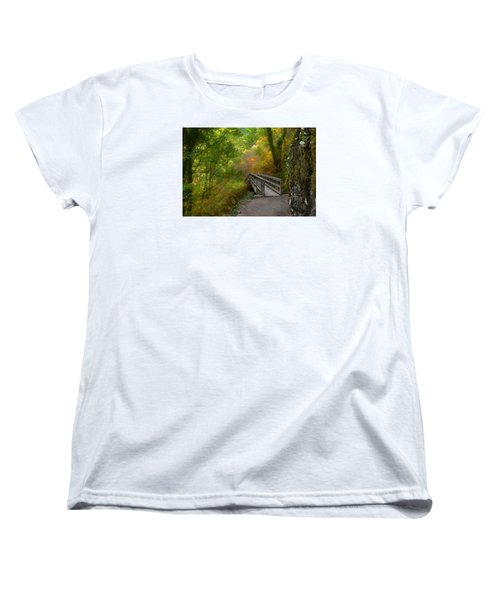 Bridge To Lightness Women's T-Shirt (Standard Cut) by Laura Ragland