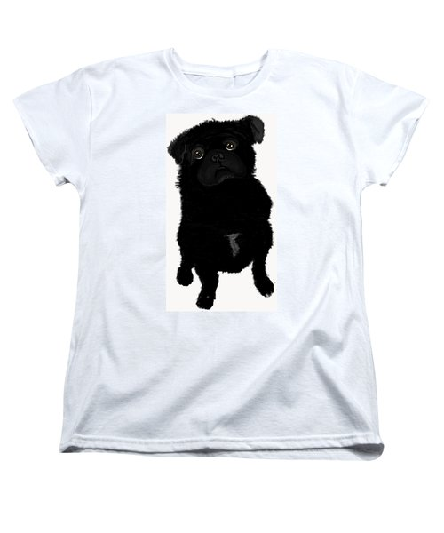 Women's T-Shirt (Standard Cut) featuring the photograph Brig by Paula Brown