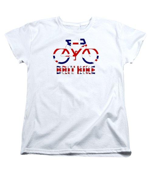 Brit Bike Women's T-Shirt (Standard Cut) by Roger Lighterness
