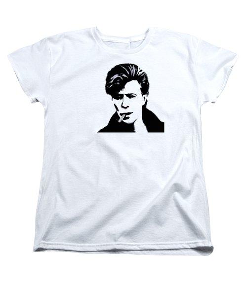 Women's T-Shirt (Standard Cut) featuring the digital art British Rock by Pennie  McCracken