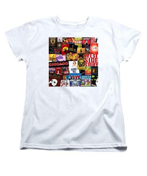 Broadway 10 Women's T-Shirt (Standard Cut) by Andrew Fare