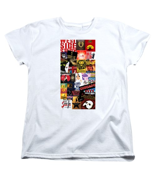 Broadway 9 Women's T-Shirt (Standard Cut) by Andrew Fare