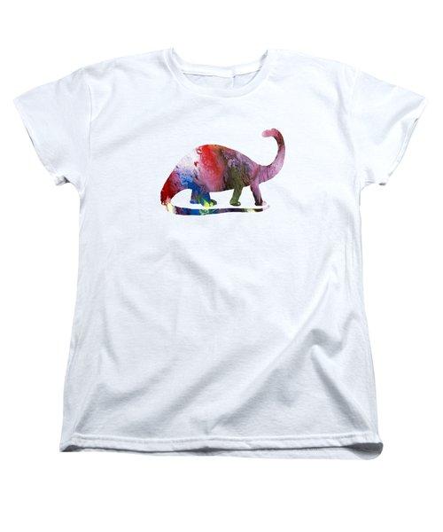 Brontosaurus Women's T-Shirt (Standard Cut)