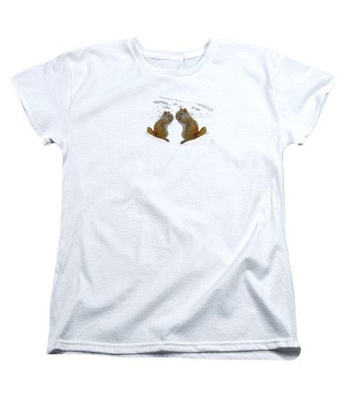 Brrr Just Chillin Women's T-Shirt (Standard Cut)