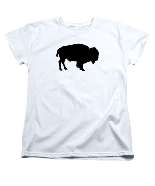 Buffalo Women's T-Shirt (Standard Cut) by Mordax Furittus