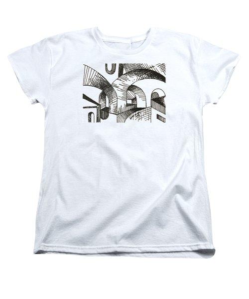 Buildings 1 2015 - Aceo Women's T-Shirt (Standard Cut) by Joseph A Langley