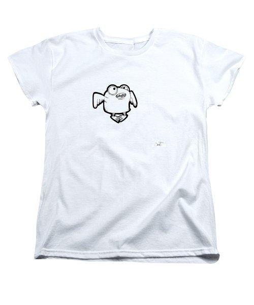 Women's T-Shirt (Standard Cut) featuring the digital art Buma by Uncle J's Monsters