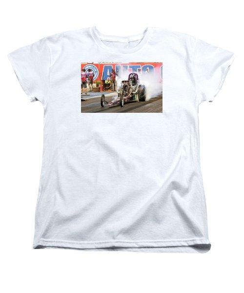 Burn Out  Women's T-Shirt (Standard Cut) by John Swartz
