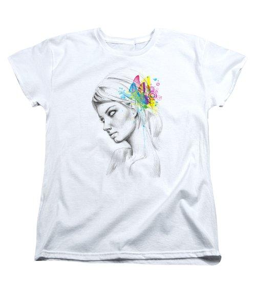 Butterfly Queen Women's T-Shirt (Standard Cut)