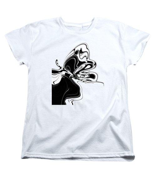 Butterfly Women's T-Shirt (Standard Cut) by Rabi Khan