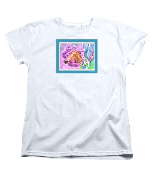 Butterfly Summer 2 Women's T-Shirt (Standard Cut) by Shirley Moravec