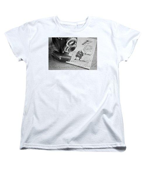 Bygone Memories Women's T-Shirt (Standard Cut) by Patrice Zinck