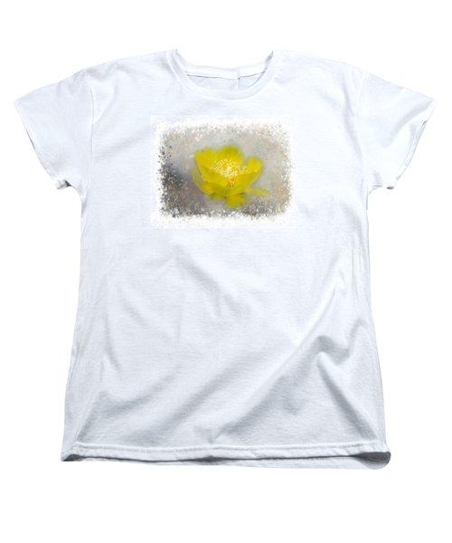 Cactus Flower Women's T-Shirt (Standard Cut)