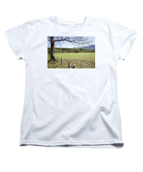 Cades Fence Women's T-Shirt (Standard Cut) by Ricky Dean