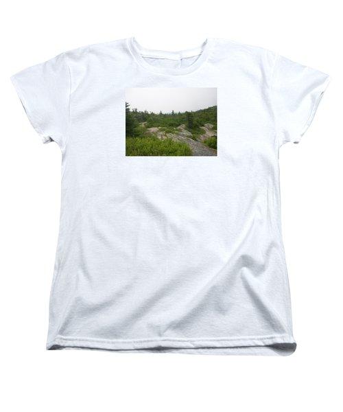 Women's T-Shirt (Standard Cut) featuring the photograph Cadillac Mountain by Helen Haw