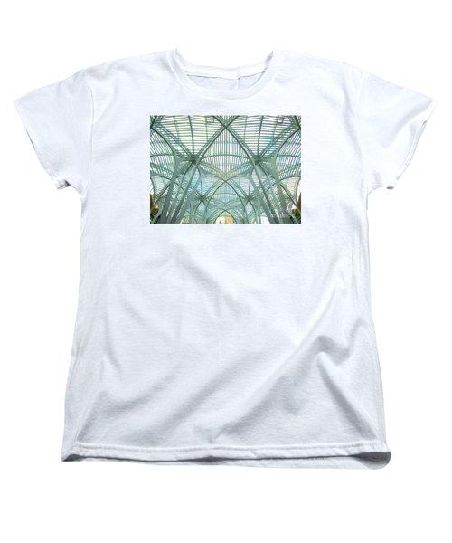Calatrava In Toronto 10 Women's T-Shirt (Standard Cut) by Randall Weidner