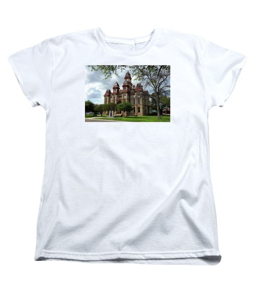 Caldwell County Courthouse Women's T-Shirt (Standard Cut) by Ricardo J Ruiz de Porras