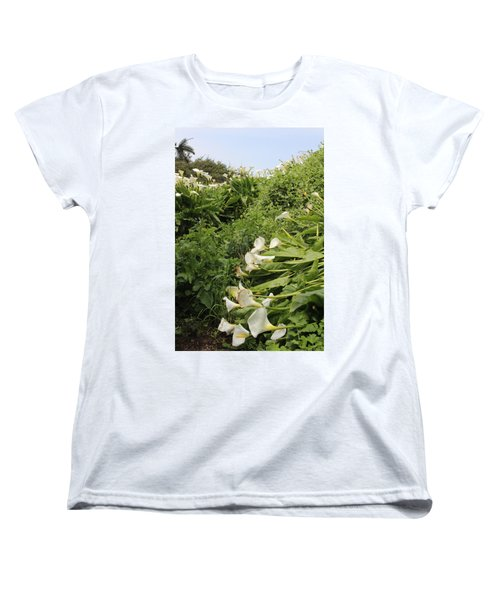Women's T-Shirt (Standard Cut) featuring the photograph Cali Can You Hear Me by Marie Neder