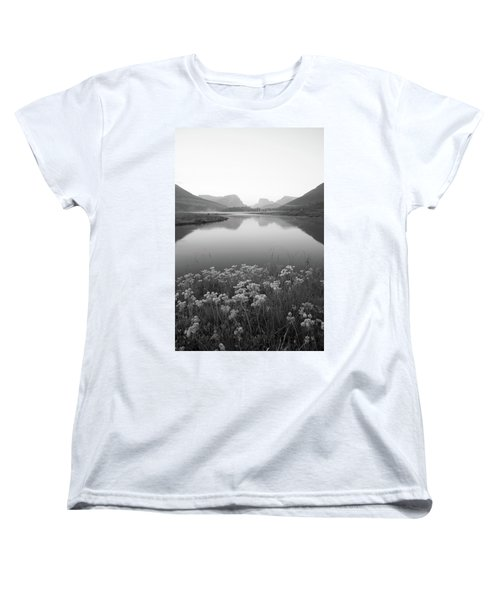 Women's T-Shirt (Standard Cut) featuring the photograph Calm Morning  by Dustin LeFevre