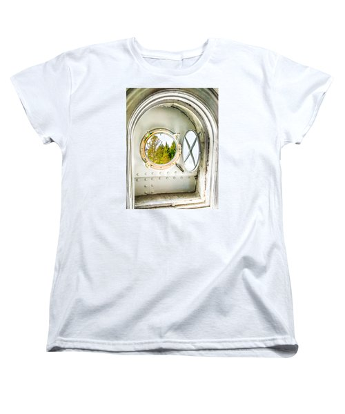 Cana View Women's T-Shirt (Standard Cut) by Jim Rossol