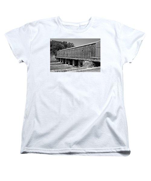 Canal Headgates Women's T-Shirt (Standard Cut) by Kay Lovingood