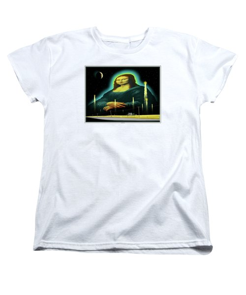 Candles For Mona Women's T-Shirt (Standard Cut) by Scott Ross