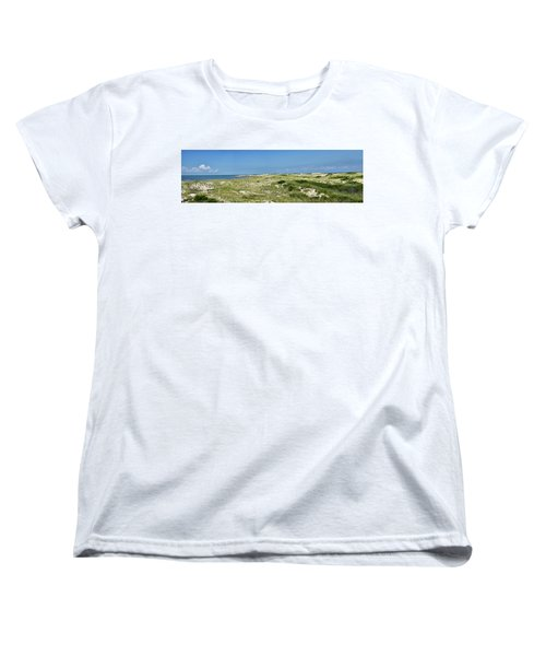 Cape Henlopen State Park - The Point - Delaware Women's T-Shirt (Standard Cut) by Brendan Reals