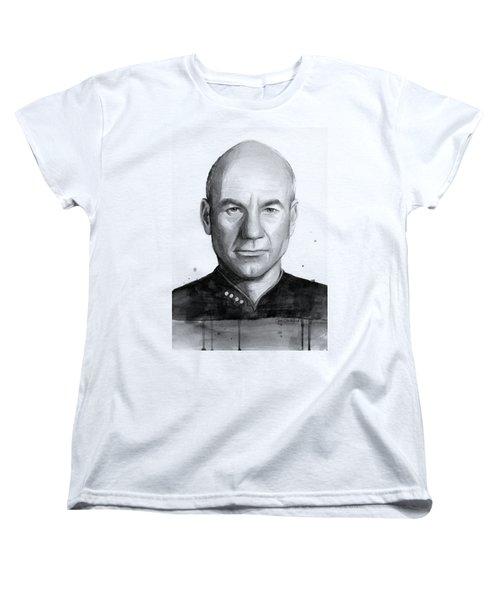 Captain Picard Women's T-Shirt (Standard Fit)