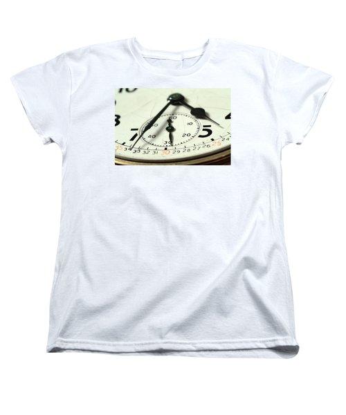 Captured Time Women's T-Shirt (Standard Cut) by Michael McGowan