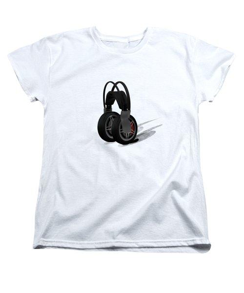 Car Stereo Women's T-Shirt (Standard Cut) by Keshava Shukla
