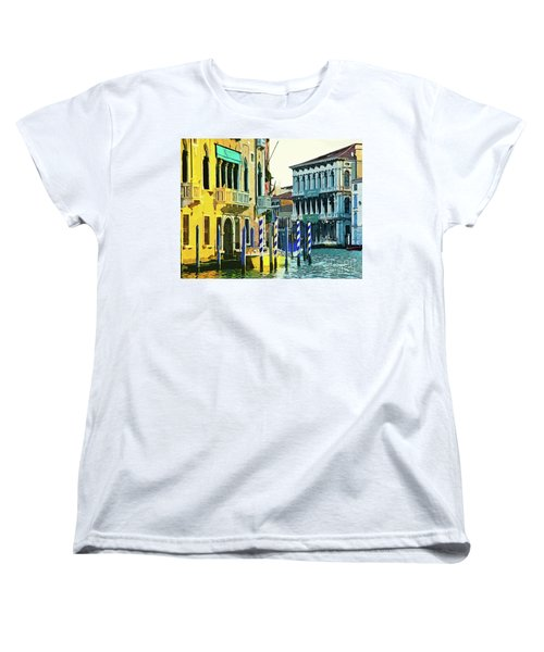 Women's T-Shirt (Standard Cut) featuring the photograph Ca'rezzonico Museum by Tom Cameron