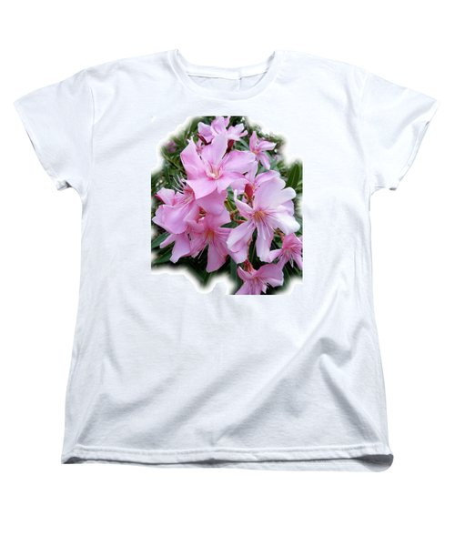 Women's T-Shirt (Standard Cut) featuring the photograph Caribbean Oleander by Marie Hicks
