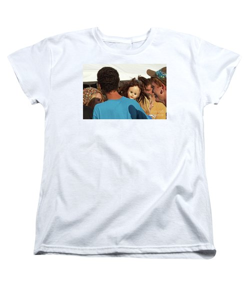 Women's T-Shirt (Standard Cut) featuring the photograph Carnival Adoption by Joe Jake Pratt