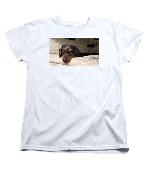 Cassie Women's T-Shirt (Standard Cut) by Judy Wanamaker